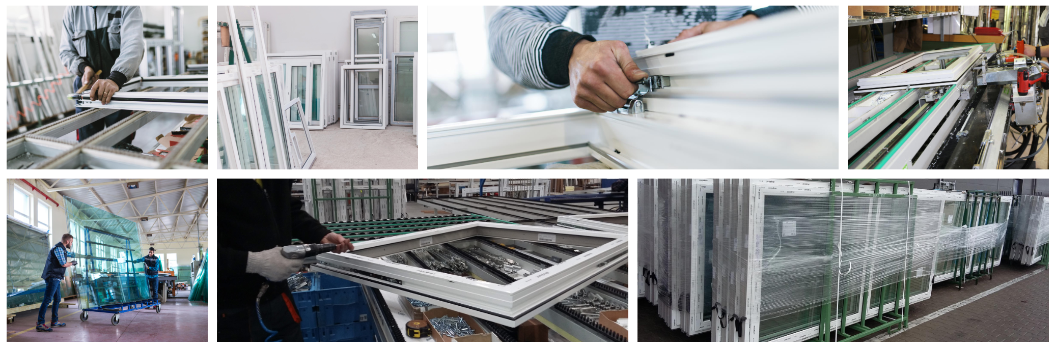 produktion fensterglas